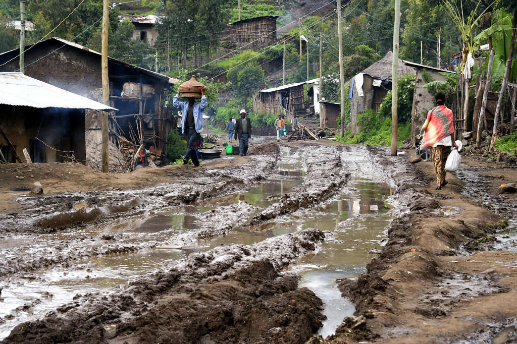 22. Ethiopie - Na de regenbui
